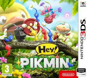 Hey! Pikmin 3DS Cover