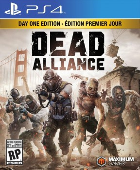 Dead Alliance PS4 Cover