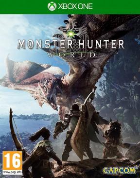 Monster Hunter World Xbox One Cover