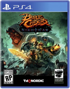 Battle Chasers: Nightwar PS4 Cover