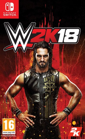 WWE 2K18 Switch Cover