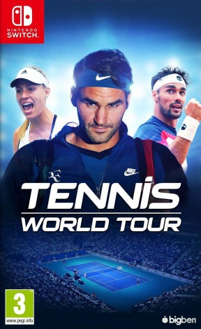 Tennis World Tour Switch Cover