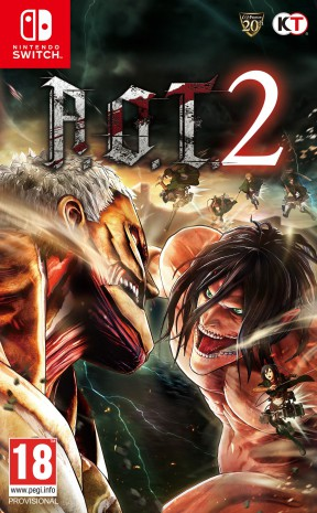Attack On Titan 2 Switch Cover