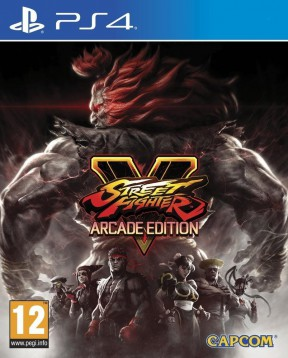 Street Fighter V Arcade Edition PS4 Cover