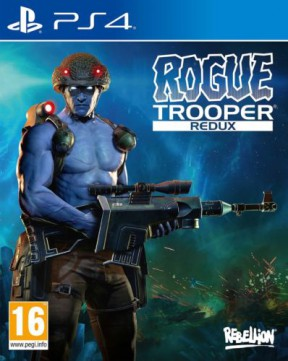 Rogue Trooper Redux PS4 Cover