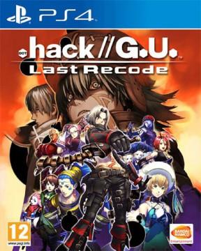 .hack//G.U. Last Recode PS4 Cover