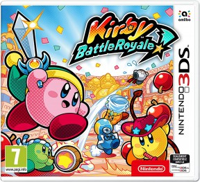 Kirby: Battle Royale 3DS Cover
