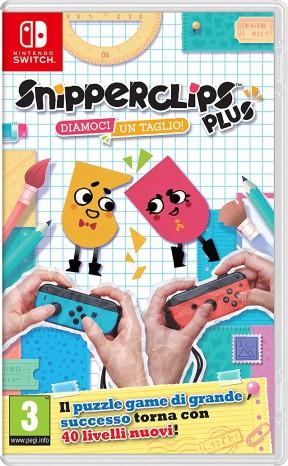 Snipperclips Plus: Diamoci un Taglio! Switch Cover