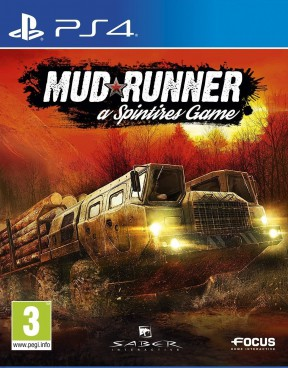 Spintires MudRunner PS4 Cover
