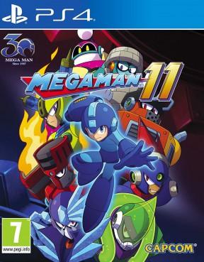 Mega Man 11 PS4 Cover