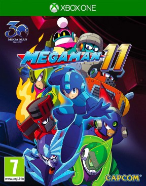 Mega Man 11 Xbox One Cover