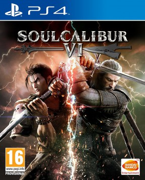 Soul Calibur VI PS4 Cover