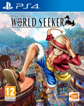 One Piece World Seeker PS4 Cover