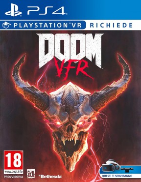 Doom VFR PS4 Cover
