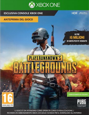 Playerunknown's battlegrounds Xbox One Cover