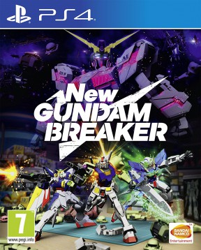 New Gundam Breaker PS4 Cover
