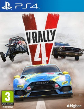 V-Rally 4 PS4 Cover