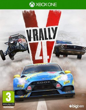 V-Rally 4 Xbox One Cover