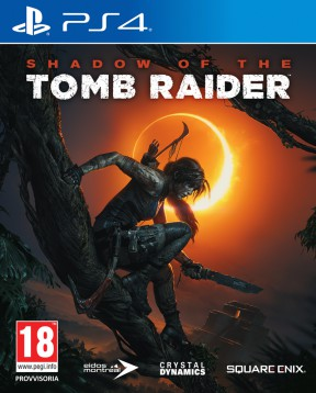 Shadow Of The Tomb Raider PS4 Cover