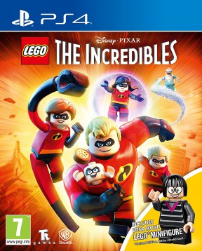 LEGO Gli Incredibili PS4 Cover