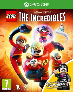 LEGO Gli Incredibili Xbox One Cover