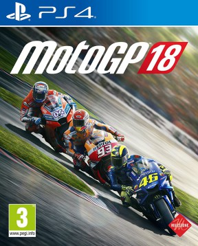 MotoGP 18 PS4 Cover