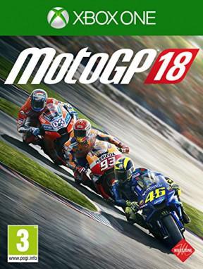 MotoGP 18 Xbox One Cover