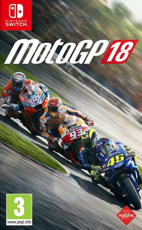 MotoGP 18 Switch Cover