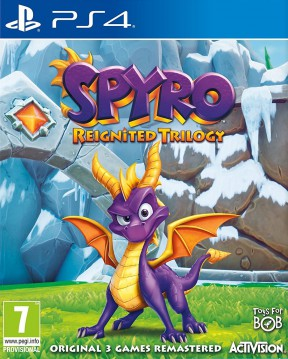 Spyro Reignited Trilogy PS4 Cover