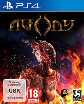 Agony PS4 Cover