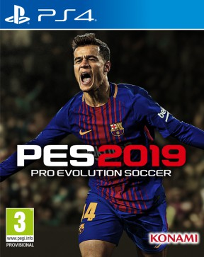 PES 2019 PS4 Cover