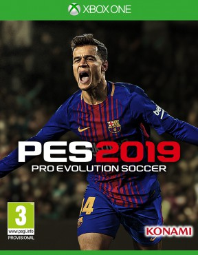 PES 2019 Xbox One Cover