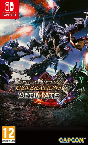 Monster Hunter Generations Ultimate Switch Cover