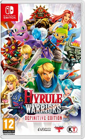 Hyrule Warriors: Definitive Edition Switch Cover