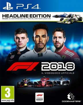 F1 2018 PS4 Cover