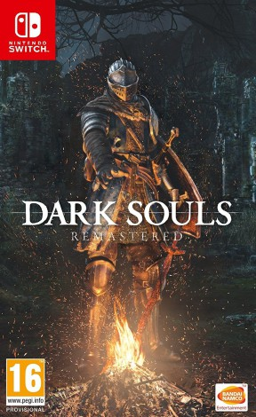 Dark Souls: Remastered Switch Cover