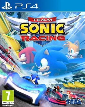 Team Sonic Racing PS4 Cover