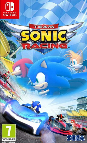 Team Sonic Racing Switch Cover