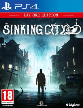 The Sinking City PS4 Cover