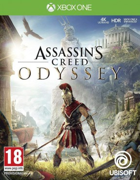 Assassin's Creed Odyssey Xbox One Cover