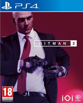 Hitman 2 (2018) PS4 Cover