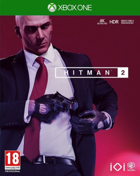 Hitman 2 2018 Xbox One Cover