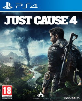 Just Cause 4 PS4 Cover