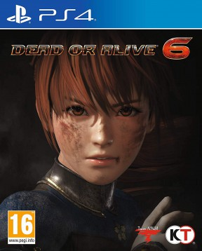 Dead Or Alive 6 PS4 Cover