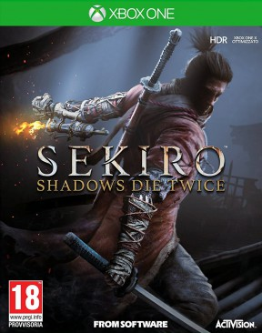 Sekiro: Shadows Die Twice Xbox One Cover