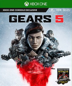 Gears 5 Xbox One Cover