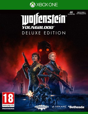 Wolfenstein: Youngblood Xbox One Cover