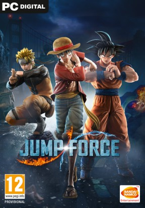 Jump Force: Unite to Fight PC Cover