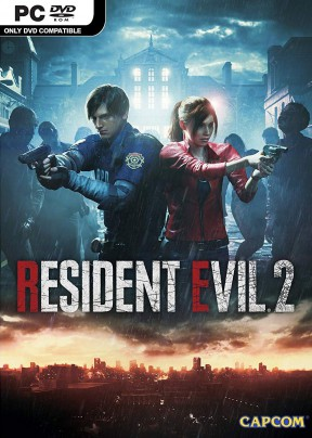 Resident Evil 2 Remake PC Cover