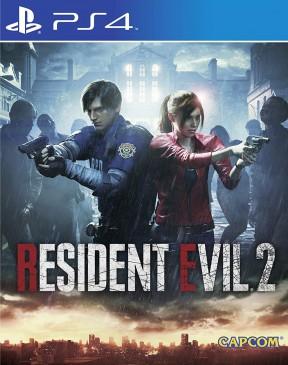 Resident Evil 2 Remake PS4 Cover